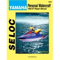 Servicehåndbog Yamaha PWC 1992-1997