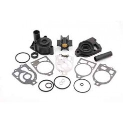 WATER PUMP KIT MERCRUISER W/FLUSH PLUG
